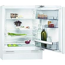 AEG SKB58211AF Kühlschrank / 133 L Einbaukühlschrank / Integrierbarer  Unterbau Kühlschrank Ohne Gefrierfach U0026 Vollautomatischem