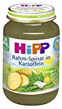 Hipp Rahm-Spinat mit Kartoffeln