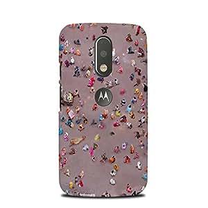 PrintCasual Back Cover for Motorola Moto E (2nd Gen)