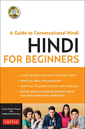 Hindi for Beginners: Mastering Conversational Hindi (CD-ROM Included) (Book & CD Rom)
