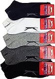 Slazenger 5 Pairs MENS Trainer Liner Socks