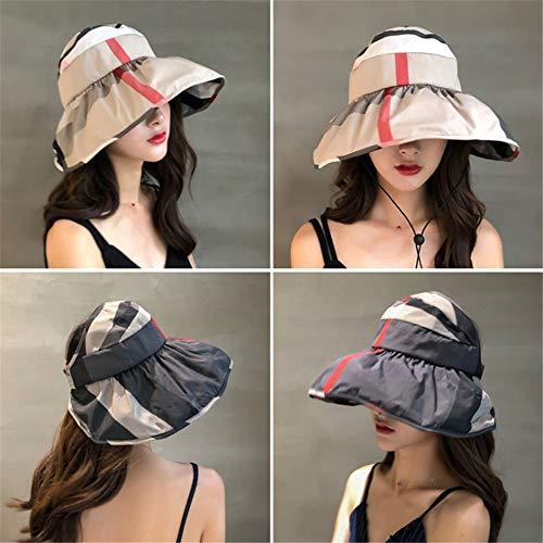 Camuflaje Sombrero Visera Transpirable Damas, versión