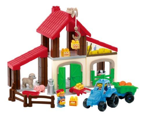 Ecoiffier - 3144 - jeu de construction - Exploitation agricole Abrick