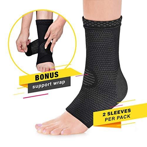 Modetro Sports Ankle Brace Compression Support...