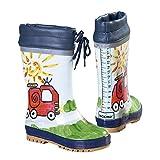 maximo Gummistiefel Feuerwehr – Kinderschuhe für draußen – Regenstiefel für Kleinkinder – bunt
