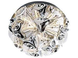 Tara lampe lED plafonnier-chrome