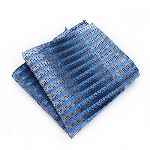 SKYyao Einstecktuch Herren Tasche Tuch Kostüm Accessoires Schal Party Hochzeit Schal Polyester Seide 25 * 25cm