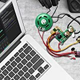 Kid Adult Sonido grabable módulo de Voz para la Tarjeta de felicitación del Regalo de la música de Sonido Talk viruta Musical de Navidad (Negro)