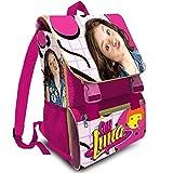 Kit Scuola 3 in 1 School Promo Pack Zaino Estensibile + Astuccio 3 Zip Accessoriato + Ombrello Salvaspazio Disney Soy Luna Edizione