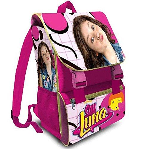 Kit scuola 3 in 1 school promo pack zaino estensibile + astuccio 3 zip accessoriato + ombrello salvaspazio disney soy luna edizione 2017-2018