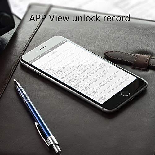 WE.LOCK Contraseña y Bloqueo de Puerta Inteligente Bluetooth con Tarjeta RFID en Keyless
