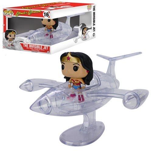 Wonder Woman Invisible Jet Pop! Vinyl Vehicle (Wonder Invisible Jet Woman)