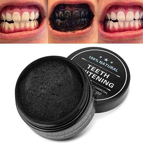 maruti villa Activated Charcoal Teeth Whitening Powder I Enamel Safe Teeth Whitener | Suitable for Sensitive teeth | 50 Grams