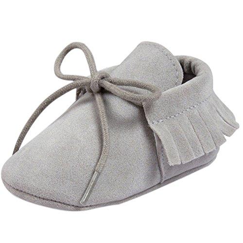 Etrack-Online  Baby Sneakers, Baby Jungen Lauflernschuhe Hellgrau