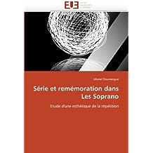 Série et remémoration dans Les Soprano: Etude d'une esthétique de la répétition (Omn.Univ.Europ.)