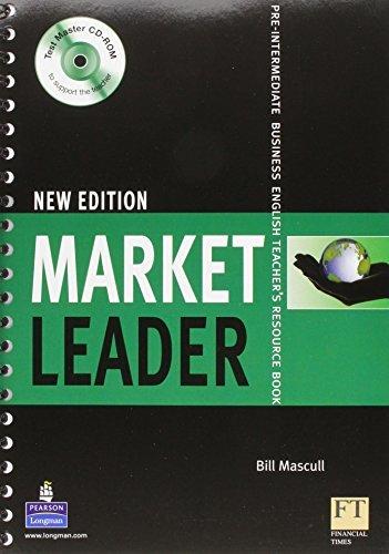 Market Leader: Pre-intermediate Teachers Book and Test Master: Pre-intermediate Business English Teacher's Resource Book by Bill Mascull (2007-05-31)