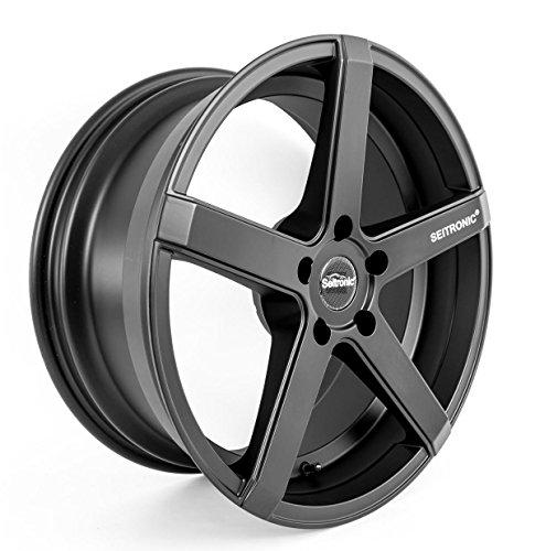 SEITRONIC® RP6 Alufelge | Concave Design | Matt Black 19 Zoll 9,5J 5x112-ET35