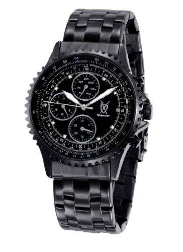 Konigswerk Herren Uhr Analog Quarz mit Metall Armband SQ201415G