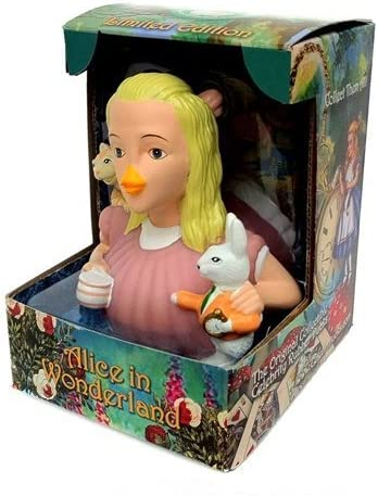 Alice in Wonderland Rubber Duck by CelebriDucks | Mende