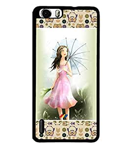 Fuson 2D Printed Girly Designer back case cover for Huawei Honor 6 - D4281
