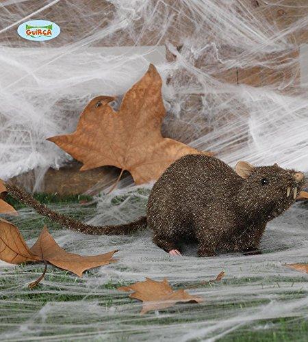 Halloween braun Riesen Ratte Ungeziefer Deko Horror Ratten Dekoration, 33cm (Halloween Ratte Kostüm)