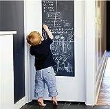 Tafelkreide Bord Aufkleber Tapete zu Hause Schulen und Büros Kinder 45 cm x 200 cm Von Stillshine(Enthält 5 Kreide)