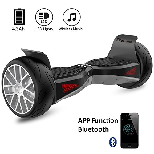 EVERCROSS Shadow Hoverboard Patinete Eléctrico Scooter y...