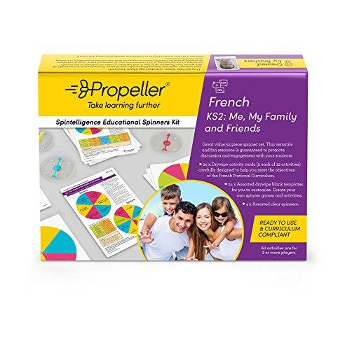 Propeller Bildung spkf2Spinner Kit, KS2, Französisch, ME, My Familie und - Französisch Globale