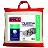 Dodo Topmemory Oreiller Uni Classique Blanc 60 x 60 cm Synthétique Ergonomique