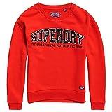 Superdry Urbam Street, Sudadera para Mujer. 10 Rojo