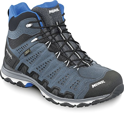 Meindl Schuhe X-SO 70 Mid GTX Surround Men - anthrazit/blau (Anthrazit Herren Schuhe)