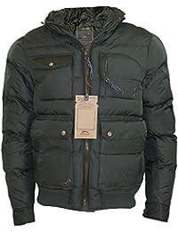 Hommes Slazenger Tenzing style Zipper capot rembourré Vestes d'hiver