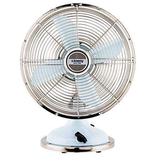 H.Koenig JOE50 Ventilador Azul Claro, Ventilador Eléctrico