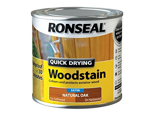 ronseal-qdwsno250-250-ml-satin-finish-quick-dry-woodstain-natural-oak
