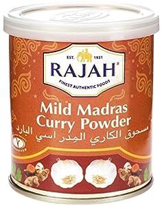 Mild Madras Curry Powder (Tin Box) from Rajah