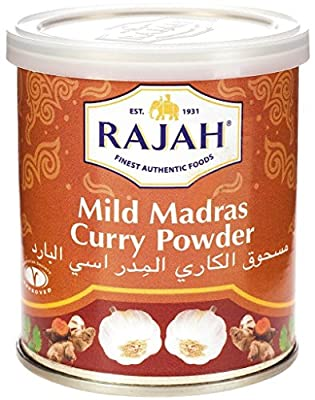 Mild Madras Curry Powder (Tin Box) from Rajah