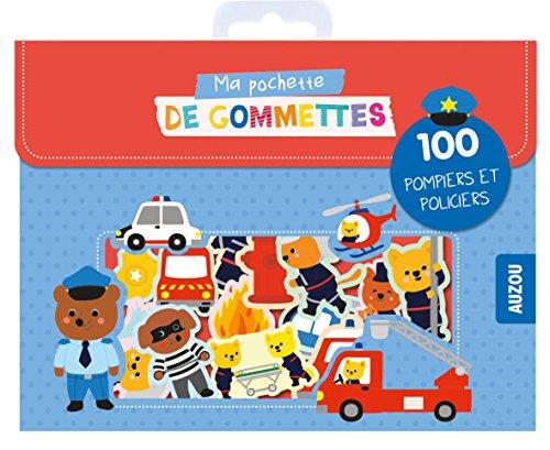 Ma pochette de gommettes - 100 pompiers et policiers par Stéphanie Bardy