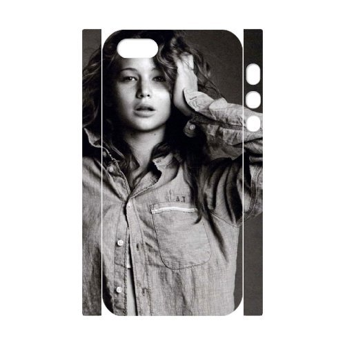 LP-LG Phone Case Of Jennifer Lawrence For iPhone 5,5S [Pattern-6] Pattern-6