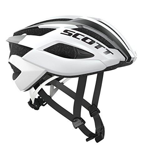Scott Arx Rennrad Fahrrad Helm weiß 2018: Größe: L (59-61cm)
