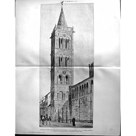 Cattedrale 1891 del Campanile di Architettura del Costruttore Zara Dalmazia Jackson