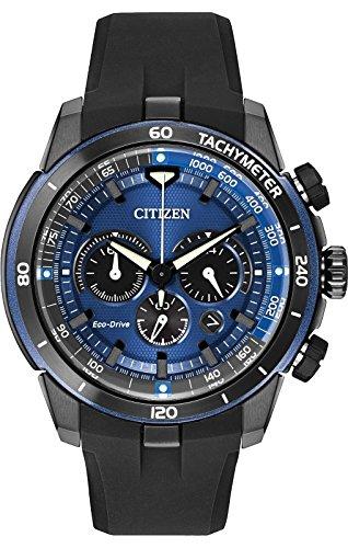 Citizen # ca4155–12l da uomo eco drive ecosphere pu band cronografo orologio sportivo