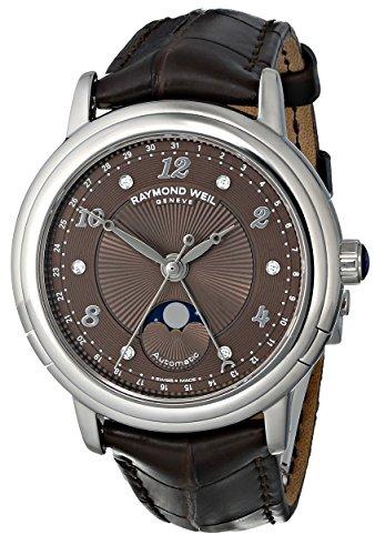 raymond-weil-da-donna-2739-l2-05785-maestro-orologio-analogico-display-svizzero-automatico-marrone