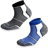 2pares More Mile Nueva York acolchado Coolmax–Calcetines de deporte