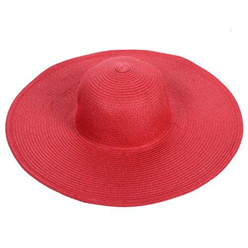 Chapeaux de plage/No/Chapeau féminin/Chapeau de paille/Aucun lecteur/Chapeau d'accessoires de mer H