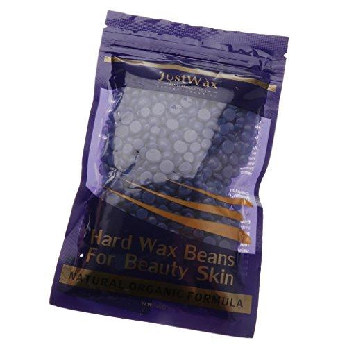Fenteer Hartwachs Wachsbohnen 100g zur Haarentfernung Für Intim, Beine, Arme und Gesicht Enthaarungs - Lavendel