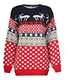 Fast Fashion - Pull Manches Longues Taille Plus Rennes Xmas ...