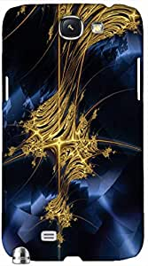 Timpax protective Armor Hard Bumper Back Case Cover. Multicolor printed on 3 Dimensional case with latest & finest graphic design art. Compatible with only Samsung Galaxy Note II N7100. Design No :TDZ-20365