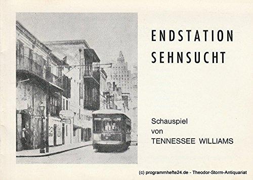 Programmheft Endstation Sehnsucht Spielzeit 1986 / 87 Heft (Kostüme Gen)