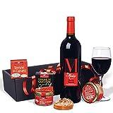 ducs de gascogne coffret en rouge/noir comprend 4 terrines/vin spécial cadeau