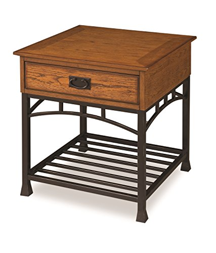 Homestyles Holz Top (Home Styles 5053-20 Parent Distressed Oak)
